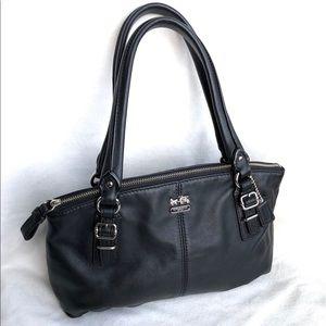 Coach Mini Black Leather Bag
